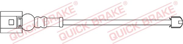 Датчик износа тормозных колодок MINTEX арт. WS0230A