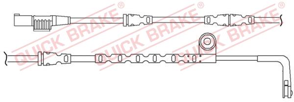 Датчик износа тормозных колодок MINTEX арт. WS0260A
