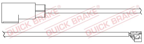 Датчик износа тормозных колодок MINTEX арт. WS 0312 A