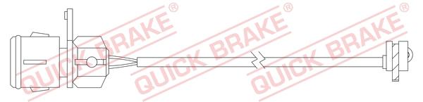 Датчик износа тормозных колодок MINTEX арт. WS 0331 A