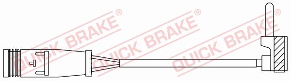 Датчик износа тормозных колодок MINTEX арт. WS 0378 A