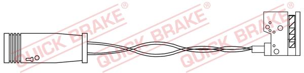Датчик износа тормозных колодок MINTEX арт. WS 0385 A