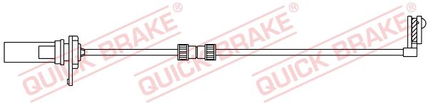 Датчик износа тормозных колодок MINTEX арт. WS 0427 A