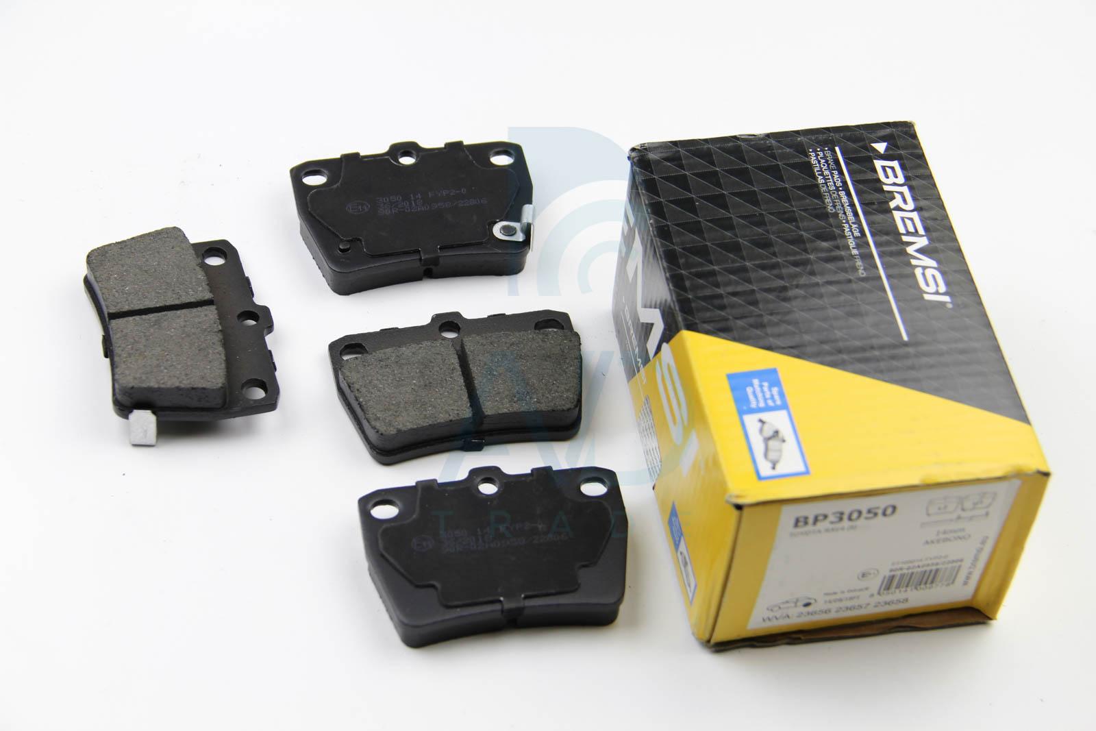 Тормозные колодки задние дисковые MINTEX арт. BP3050