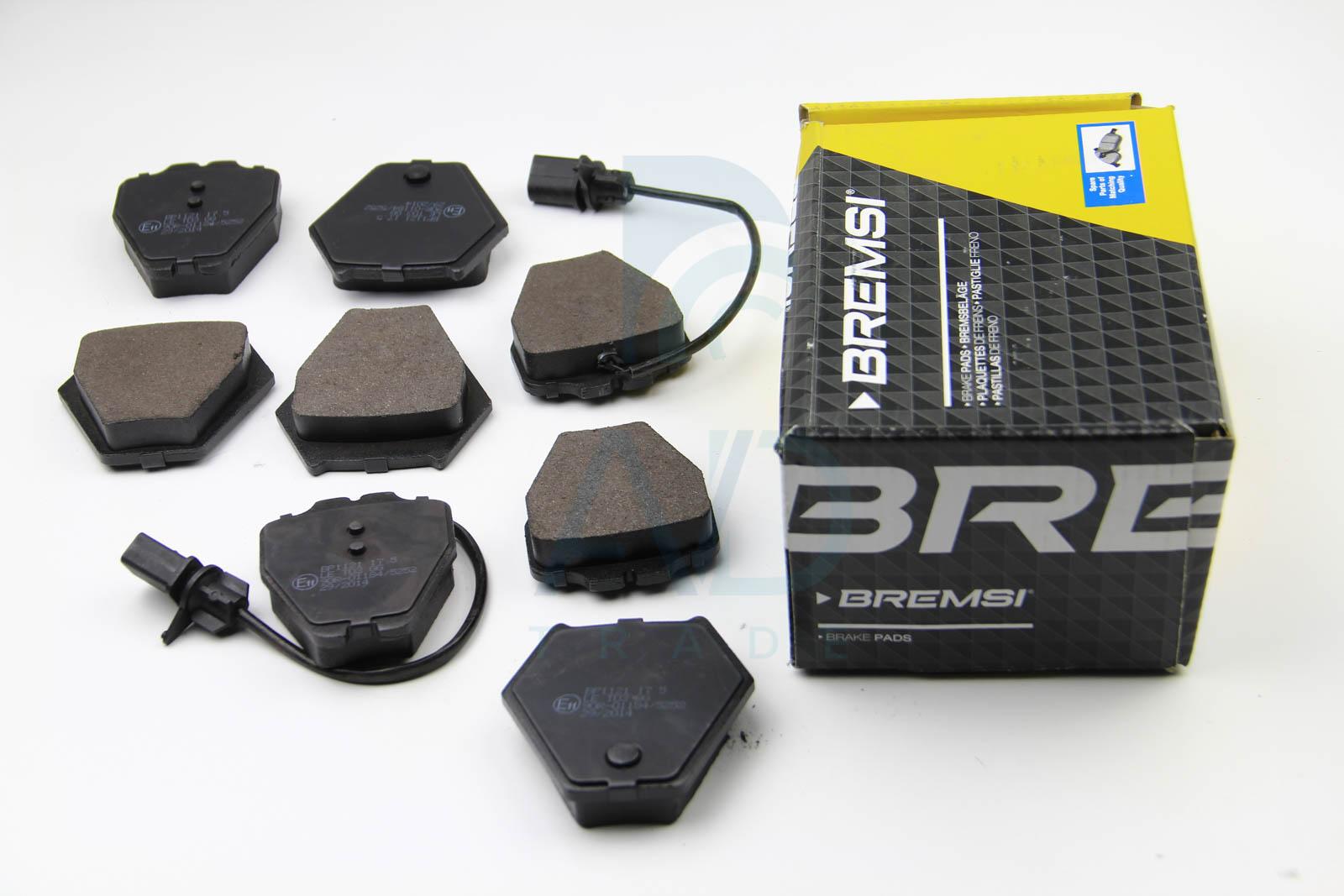 Тормозные колодки передние дисковые MINTEX арт. BP3121