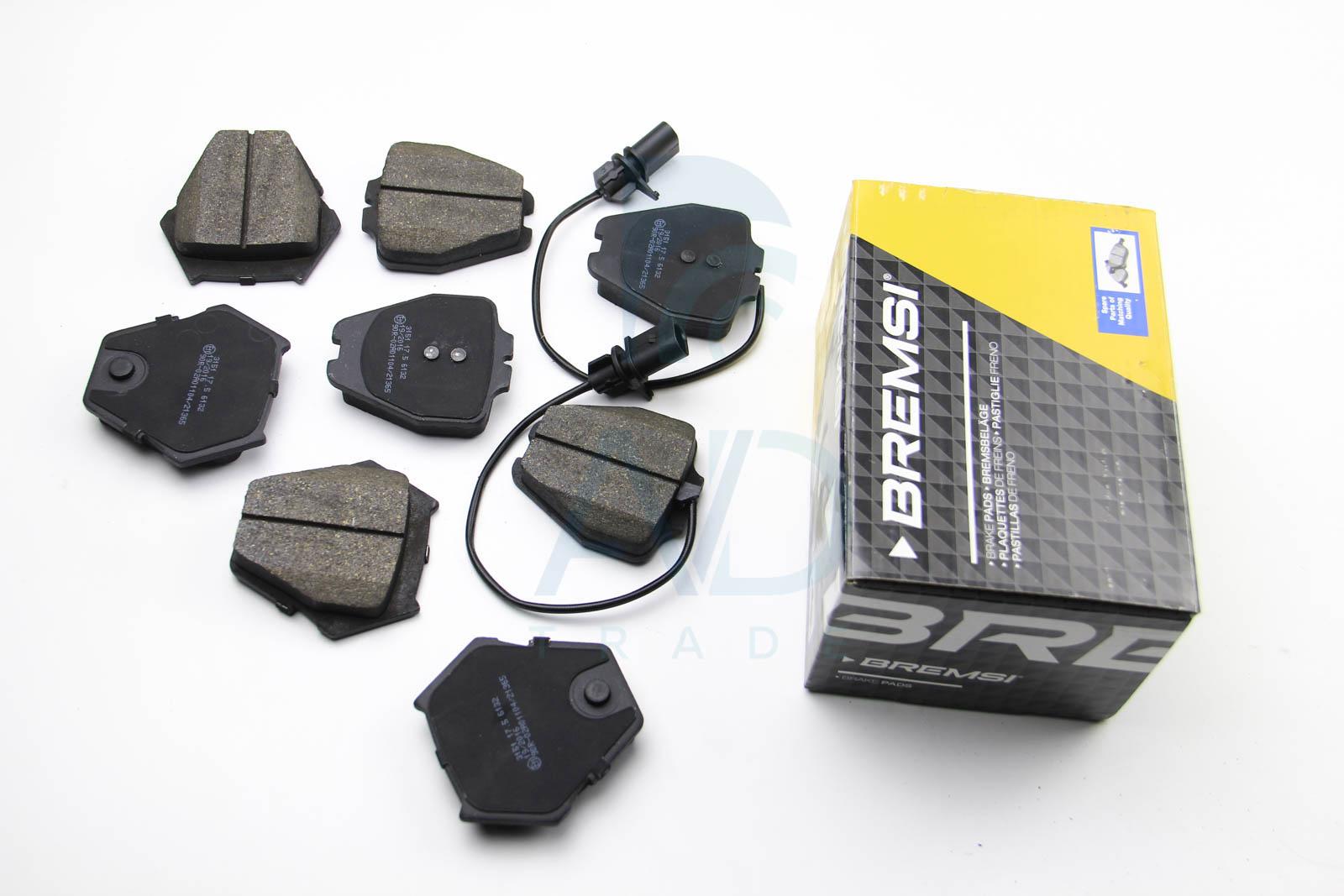 Тормозные колодки передние дисковые MINTEX арт. BP3151