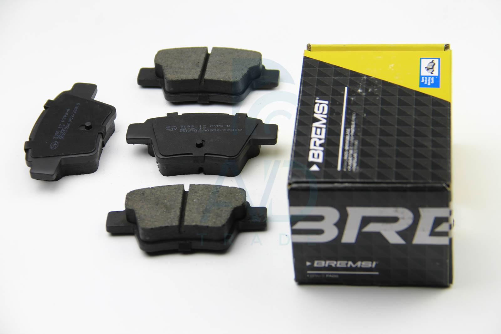 Тормозные колодки задние дисковые MINTEX арт. BP3198