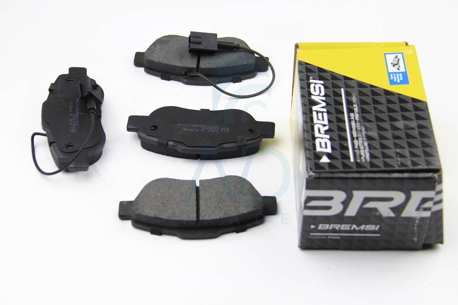 Тормозные колодки передние дисковые MINTEX арт. BP3325