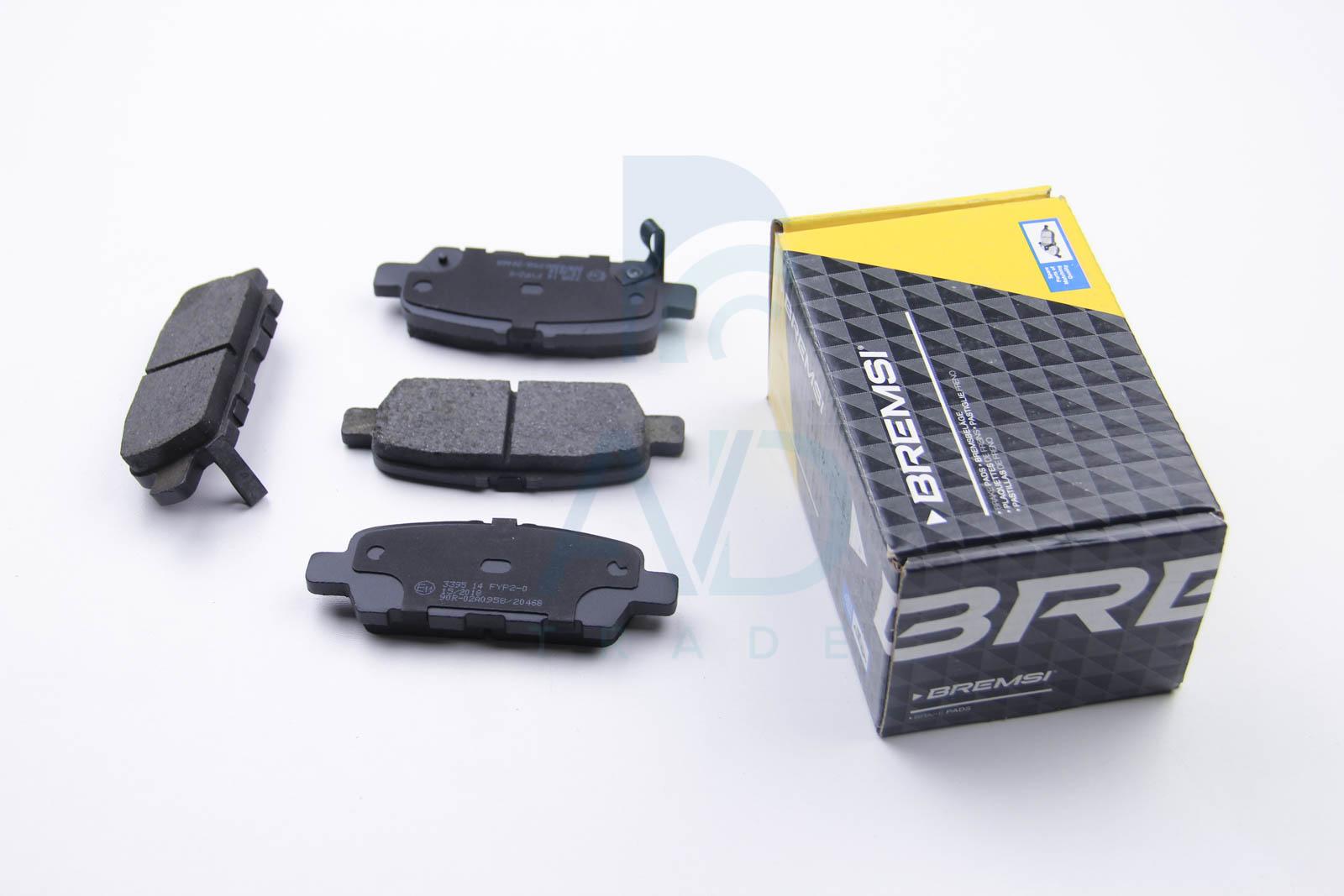 Тормозные колодки задние дисковые MINTEX арт. BP3395