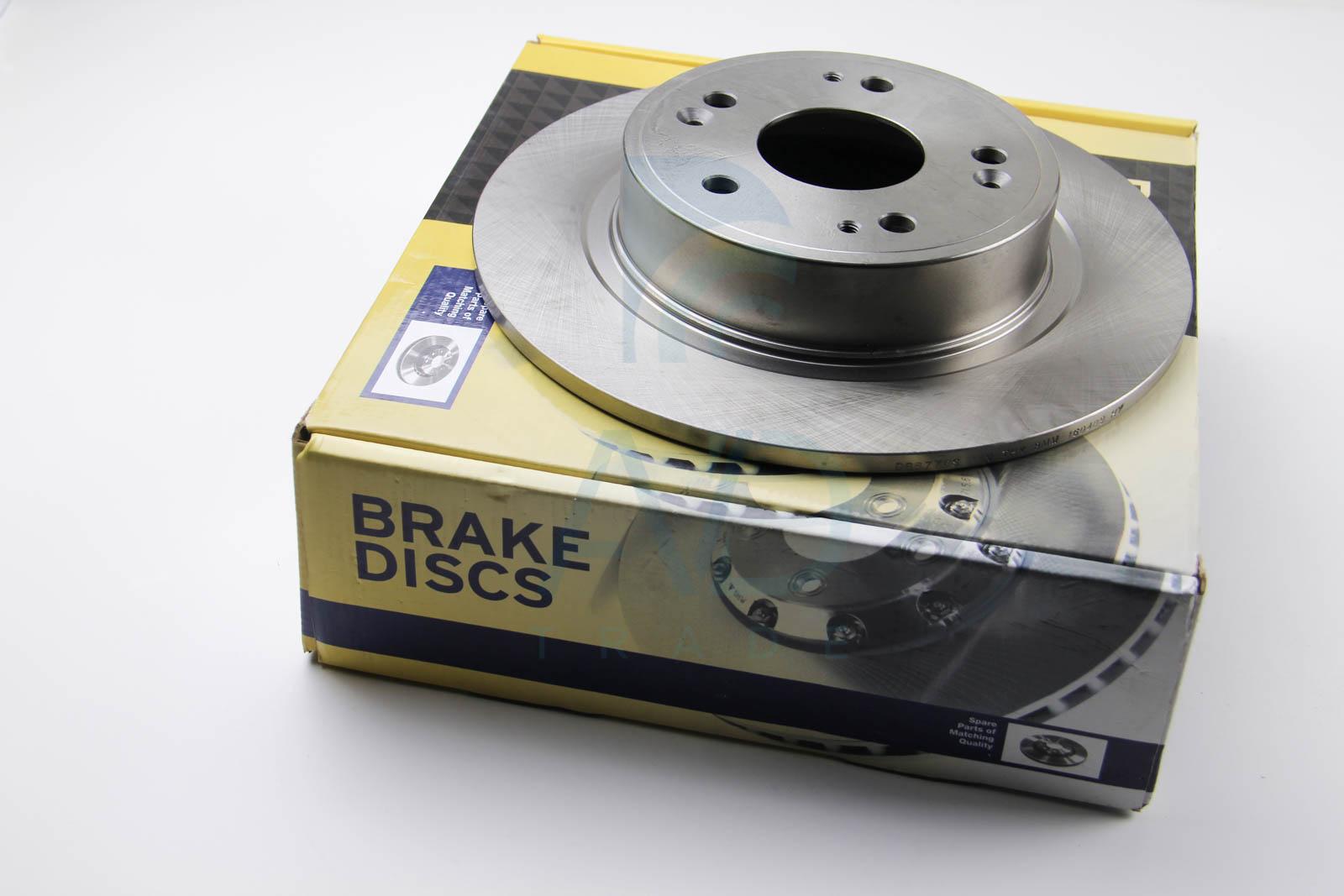 Тормозной диск задний MINTEX арт. DBB776S