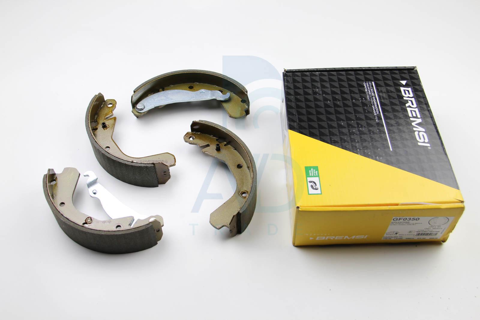 Комплект задних тормозных колодок MINTEX арт. GF0350